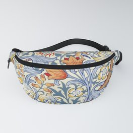 William Morris Golden Lily Victorian Wallpaper Fanny Pack