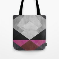 diamond Tote Bags featuring Diamond by Georgiana Paraschiv