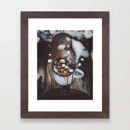 Marshmallow Deluxe Framed Art Print