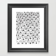 Shocking Framed Art Print