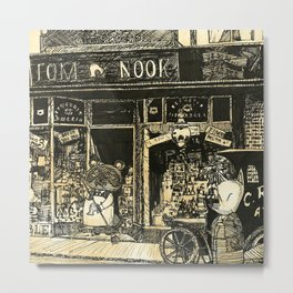 Nook's Grocery and C. Redd's Mobile Art Emporium Metal Print