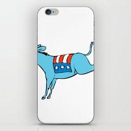 American Donkey Kicking Color Drawing iPhone Skin