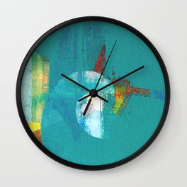 Tournament (knight turquoise) Wall Clock