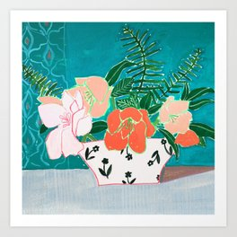 Bouquet Study Art Print