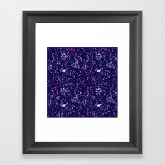 Stuga Pattern  Framed Art Print