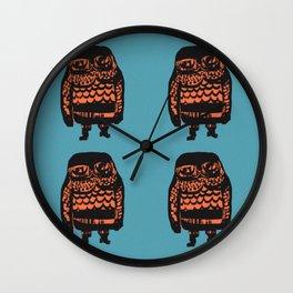 Little Seal (blue) Wall Clock