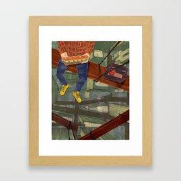 LUNCHBREAK Framed Art Print
