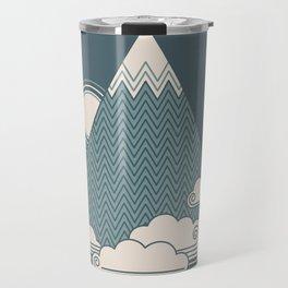 Cloud Mountain Travel Mug