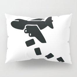 Cargo Airplane Supply Drop Pillow Sham