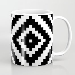 Aztec Diamond Geometric Pattern Coffee Mug