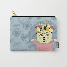 Peanut Dog_Frida Carry-All Pouch