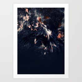 NIGHT HUNTER Art Print