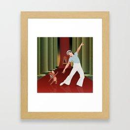 Gene and Jerry Framed Art Print