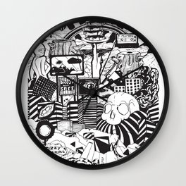 Doughnut City Wall Clock