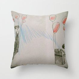 greetings Throw Pillow