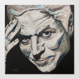 Might As Well Face It - Robert Palmer Portrait Canvas Print