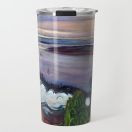 Train Smoke by Edvard Munch Travel Mug