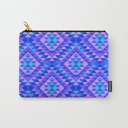 KILIM NO. 8 IN COOL MULTI Carry-All Pouch