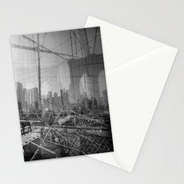 Brooklyn Bridge 3x Stationery Cards