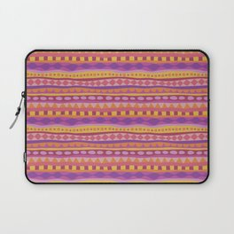 Stripey-Fiesta Colors Laptop Sleeve