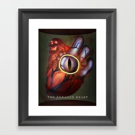 The Enraged Heart Framed Art Print