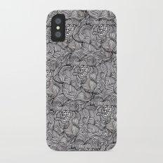 Peonies iPhone X Slim Case