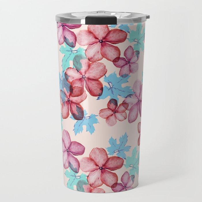 Bloom (flowers pattern) Travel Mug