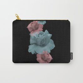 Glitch Roses Carry-All Pouch