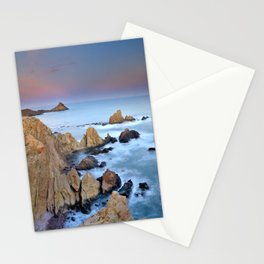 Volcanic planet Stationery Cards