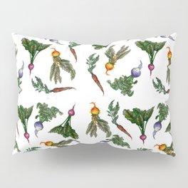 Root Vegetable Pattern Pillow Sham