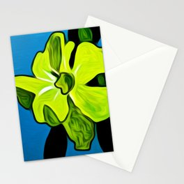 Yellow Flower in Melbourne Florida Stationery Cards