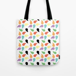 Paisley Jelly Beans Tote Bag