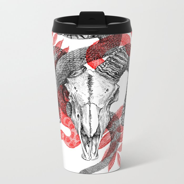 Old Ghosts Metal Travel Mug