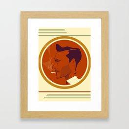 Don Draper by Marcus Marritt  Framed Art Print