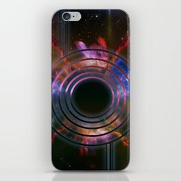 Wall of Space iPhone Skin