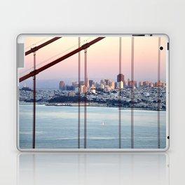 SAN FRANCISCO & GOLDEN GATE BRIDGE AT SUNSET Laptop & iPad Skin