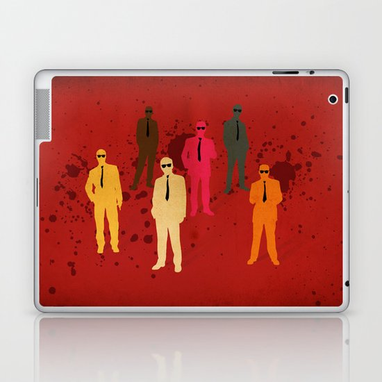 Six Angry Dogs Laptop & iPad Skin