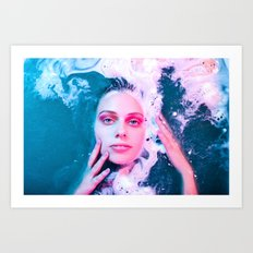 She Comes from the Sea Art Print