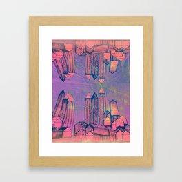 Cosmic Mirror Framed Art Print