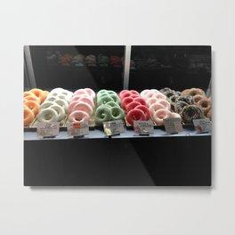 Mochi Donut Display in Tokyo, 2014 Metal Print