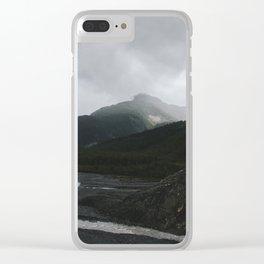 Kenai Fjords Clear iPhone Case