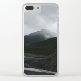 Kenai Fjords Clear iPhone Case