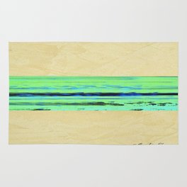Modern Movement 001 - Signed - Abstract Landscape Canvas Art - Comforters - Bedding - Metal Prints Rug