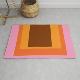Abstract Color Combination No 45 Rug