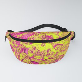 Pink Stickers Fanny Pack