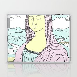 Mona Lisa Pop Laptop & iPad Skin