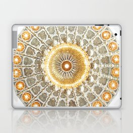 Arabic Pattern Circle Laptop & iPad Skin