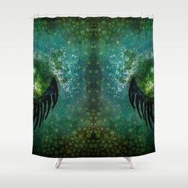 Dragon Sleep Shower Curtain