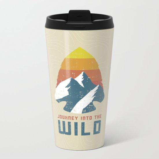Journey Into the Wild Metal Travel Mug