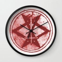 Living Heavy Sigil Wall Clock